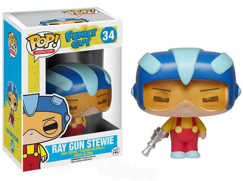 Funko Family Guy POP! Animation Ray Gun Stewie Vinyl Figure #34
