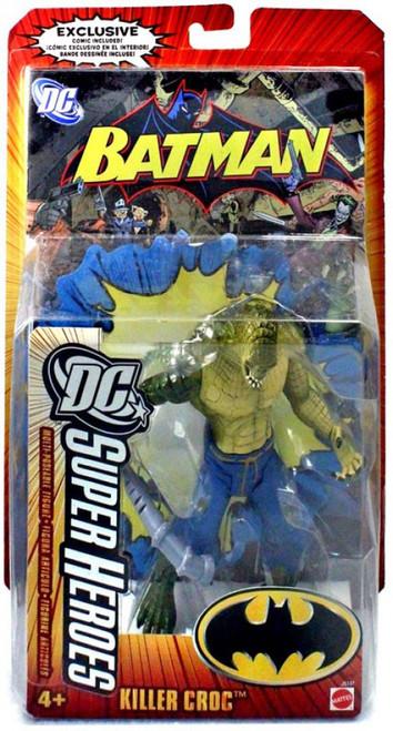 Batman DC Super Heroes Killer Croc Action Figure