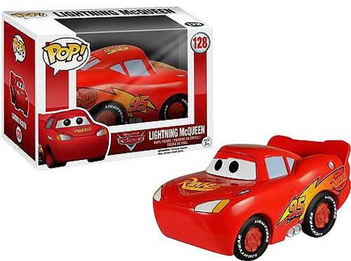 Funko Cars POP! Disney Lightning McQueen Vinyl Figure #128