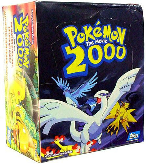 Topps Pokemon The Movie 2000 Trading Card Box [36 Packs]