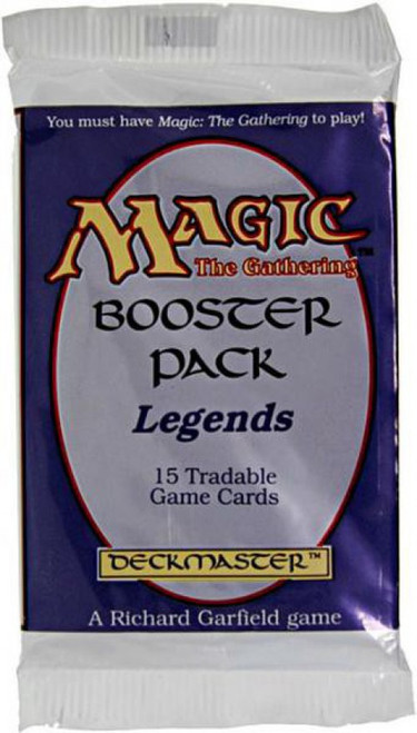 MtG Trading Card Game Legends Booster Pack [15 Cards]