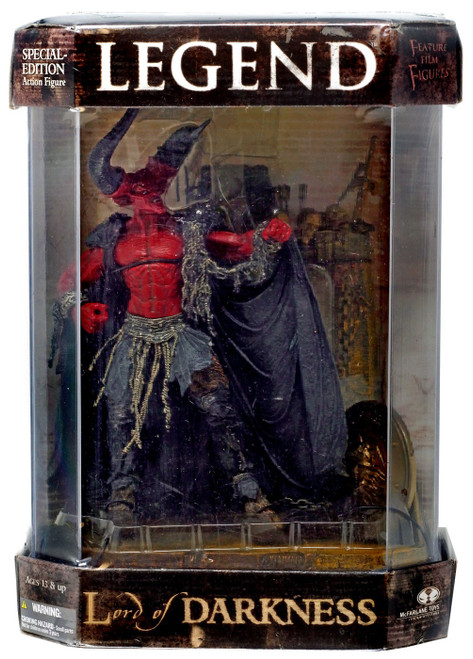 McFarlane Toys Legend Movie Maniacs Series 6 Lord of Darkness Deluxe Action Figure