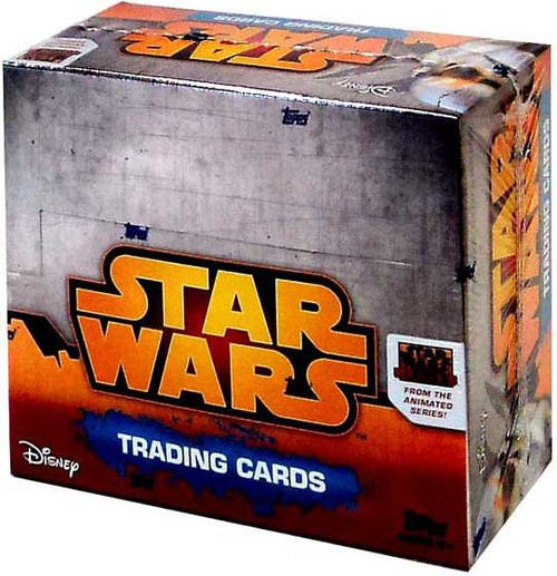 Star Wars Topps 2015 Rebels Trading Card Box [24 Packs]