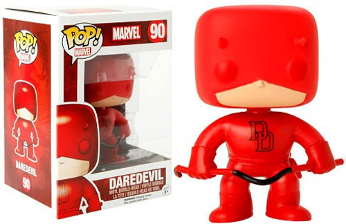 Funko Marvel Universe POP! Marvel Daredevil Exclusive Vinyl Bobble Head #90