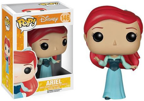 Funko The Little Mermaid POP! Disney Ariel Vinyl Figure #146 [Blue Dress]