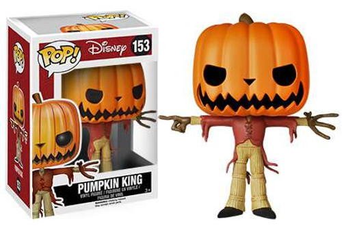 Funko Nightmare Before Christmas POP! Disney Pumpkin King Vinyl Figure #153