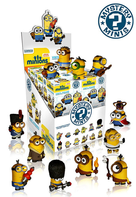Funko Despicable Me Mystery Minis Minions Movie Mystery Box [12 Packs]