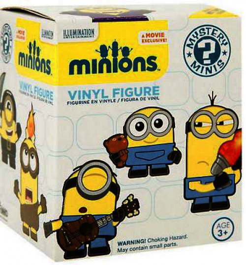 Funko Despicable Me Mystery Minis Minions Mystery Pack [1 RANDOM Figure]