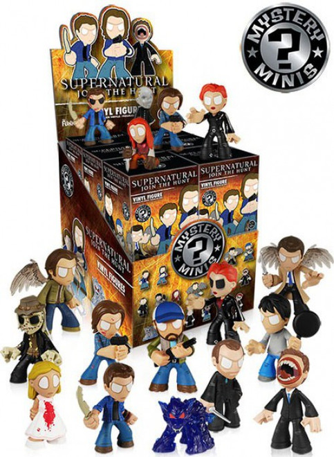 Funko Mystery Minis Supernatural Mystery Box [12 Packs]