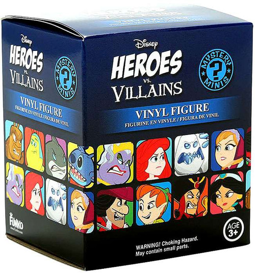 Funko Disney Mystery Minis Heroes vs Villains Mystery Pack