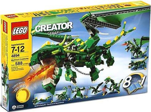 LEGO Creator Mythical Creatures Set #4894