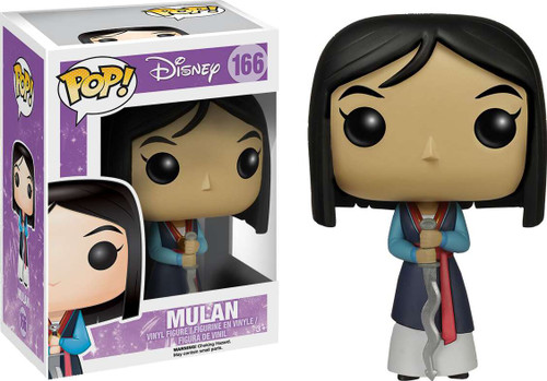 Funko POP! Disney Mulan Vinyl Figure #166