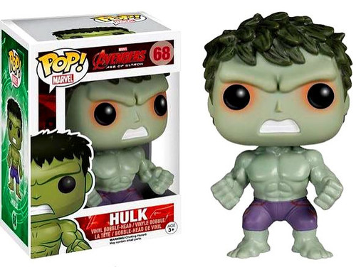 Funko Avengers Age of Ultron POP! Marvel Hulk Exclusive Vinyl Figure #68 [Red Shot Eyes Variant]
