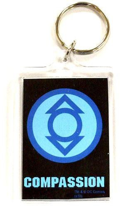 DC Green Lantern Blackest Night Indigo Compassion Keychain