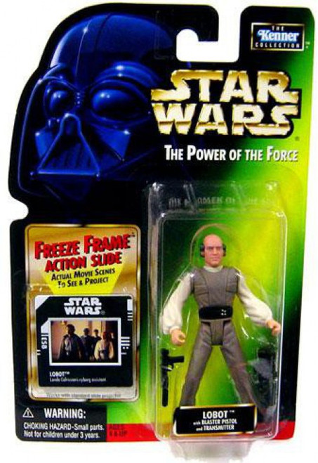 Star Wars The Empire Strikes Back Power of the Force POTF2 Kenner Collection Lobot Action Figure
