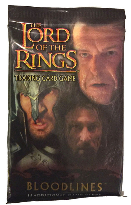 The Lord of the Rings Trading Card Game Bloodlines Booster Pack [11 Cards]