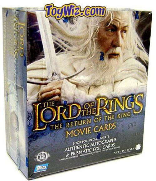 The Lord of the Rings The Return of the King Trading Card Box