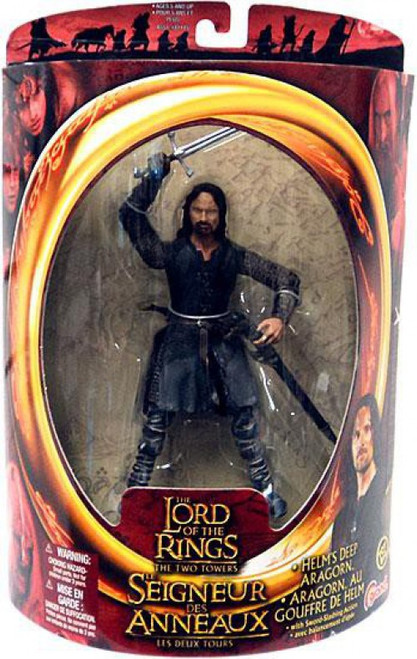 The Lord of the Rings The Two Towers Aragorn Action Figure [Helm's Deep]