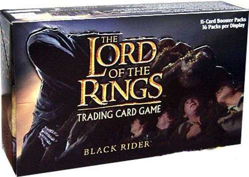 The Lord of the Rings Trading Card Game Black Riders Booster Box [36 Packs]