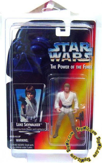 Star Wars A New Hope Power of the Force POTF2 Luke Skywalker Action Figure [Long Lightsaber Variant]