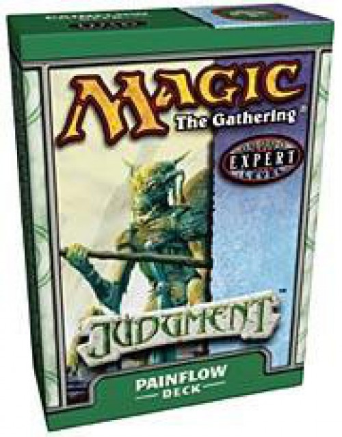 MtG Trading Card Game Judgment Painflow Theme Deck