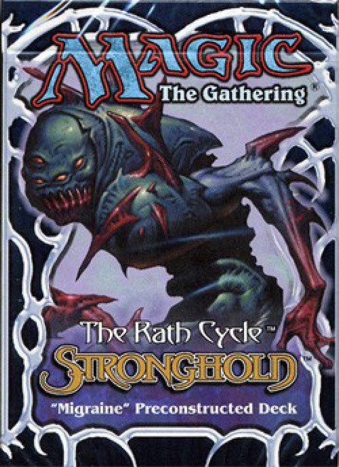 MtG Trading Card Game Stronghold Migraine Theme Deck