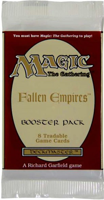 MtG Trading Card Game Fallen Empires Booster Pack [8 Cards]