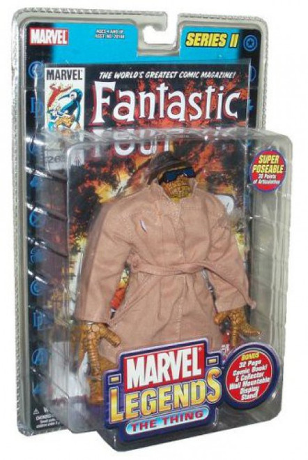 Marvel Legends Series 2 The Thing Action Figure [Trenchcoat Variant]