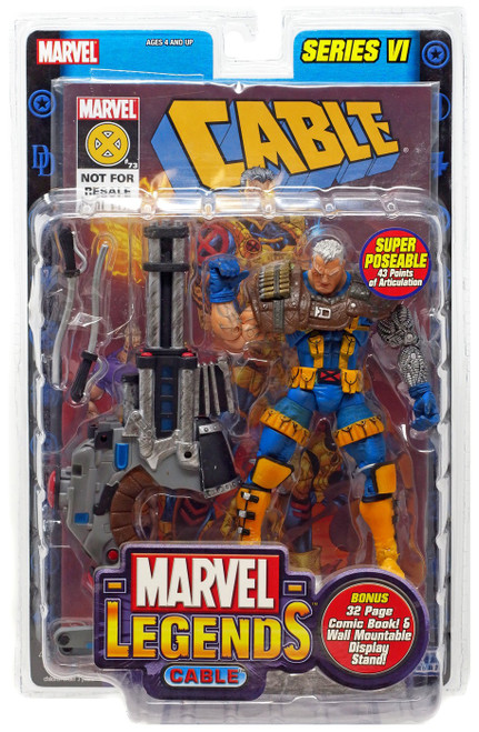 Marvel Legends Series 6 Cable Action Figure