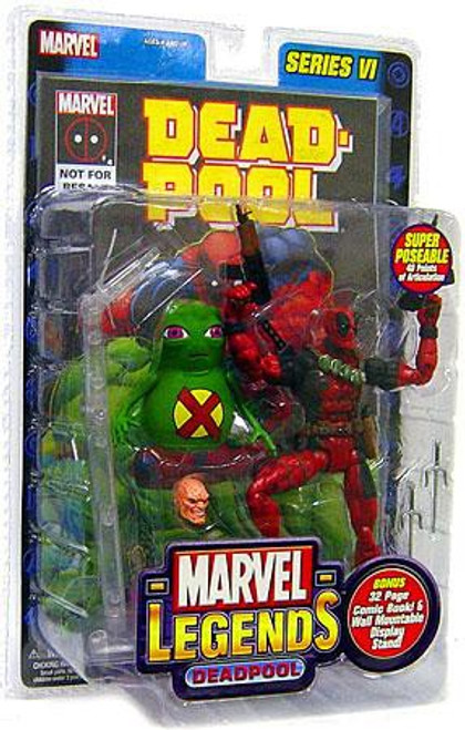 Marvel Legends Series 6 Deadpool Action Figure