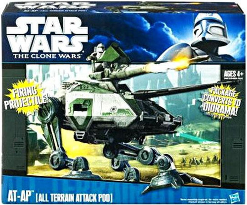 Star Wars The Clone Wars 2010 AT-AP 3.75-Inch Vehicle [All Terrain Attack Pod]