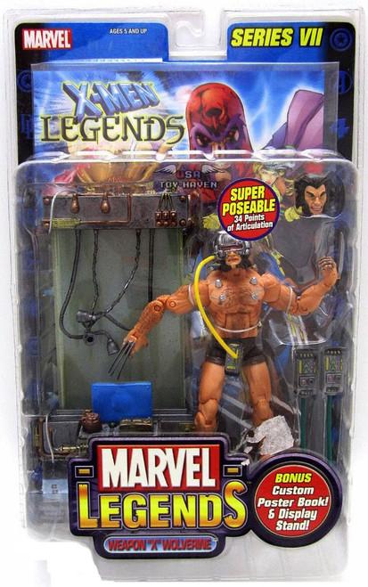 Marvel Legends Series 7 Weapon X Wolverine Action Figure