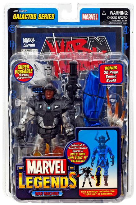 Marvel Legends Series 9 Galactus War Machine Action Figure