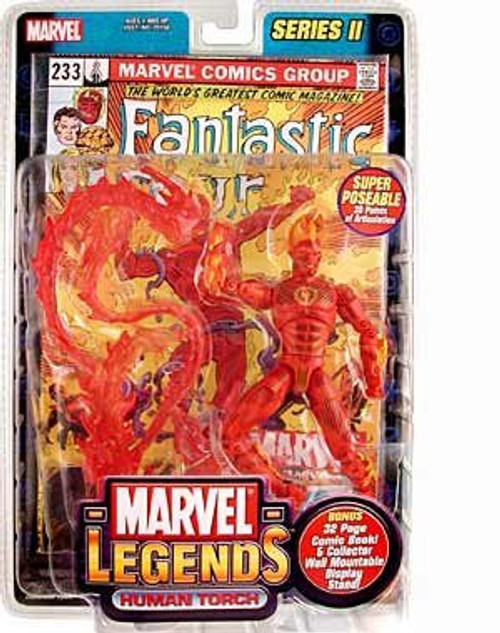 Marvel Legends Series 2 Human Torch Action Figure