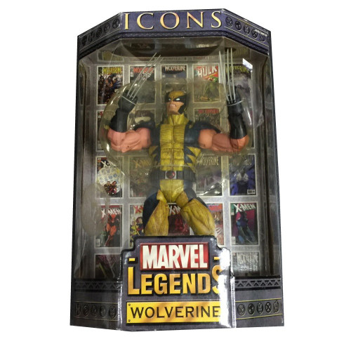 Icons Marvel Legends Wolverine Deluxe Action Figure [Mask Up]