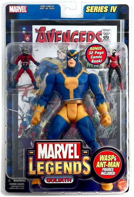 Marvel Legends Series 4 Goliath Action Figure