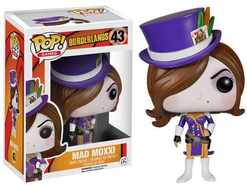 Funko Borderlands POP! Games Madd Moxxi Vinyl Figure #43