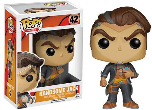 Funko Borderlands POP! Games Handsome Jack Vinyl Figure #42