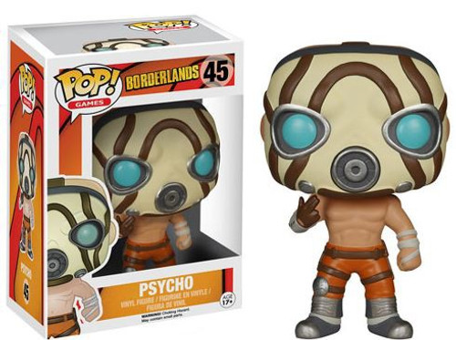 Funko Borderlands POP! Games Psycho Vinyl Figure #45
