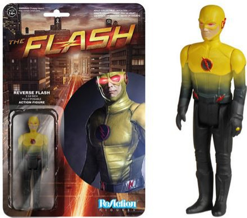 Funko The Flash CW TV Series ReAction Reverse Flash Action Figure