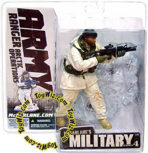 McFarlane Toys Military Series 4 Army Ranger Arctic Operations Action Figure [RANDOM Ethnicity]