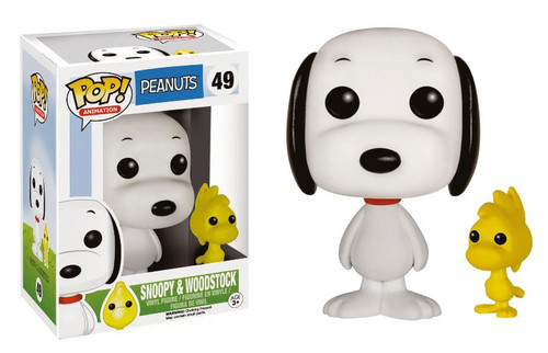 Funko Peanuts POP! TV Snoopy & Woodstock Vinyl Figures #49