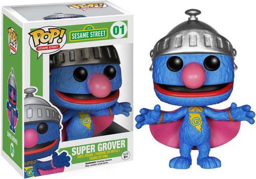 Funko Sesame Street POP! TV Super Grover Vinyl Figure #01