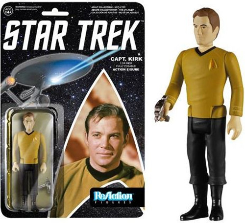 Funko Star Trek The Original Series ReAction Kirk Action Figure
