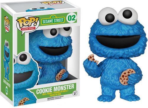 Funko Sesame Street POP! TV Cookie Monster Vinyl Figure #02