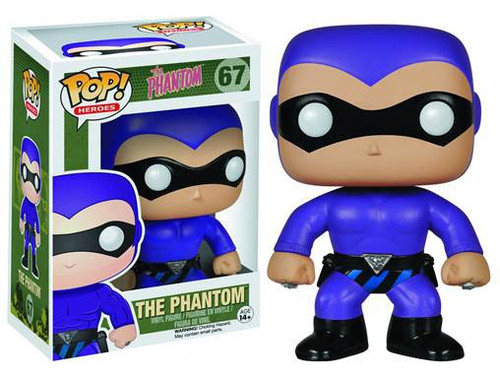 Funko POP! Heroes The Phantom Vinyl Figure #67