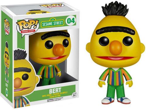 Funko Sesame Street POP! TV Bert Vinyl Figure #04