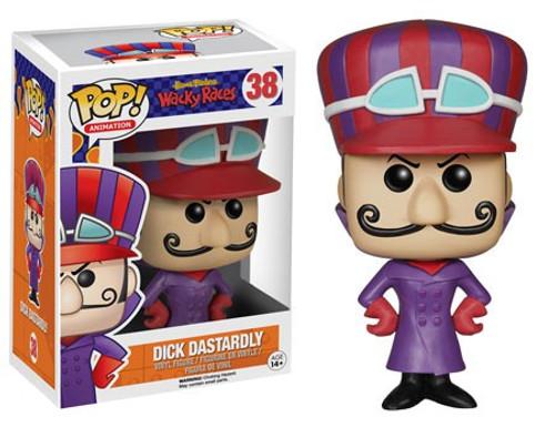Funko Hanna-Barbera POP! TV Dick Dastardly Vinyl Figure #38