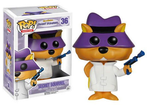 Funko Hanna-Barbera POP! TV Secret Squirrel Vinyl Figure #36