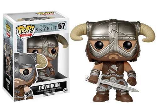 Funko The Elder Scrolls V: Skyrim POP! Games Dovahkiin Vinyl Figure #57